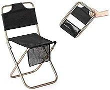 Chaise de Camping Pliante Portable avec Poches