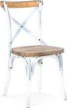 Chaise de cuisine 'RANCH' en bois finition