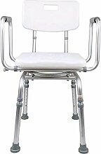 Chaise de Douche rotative à 360 °, Chaise de