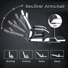 Chaise de gamer dossier et assise ergonomiques
