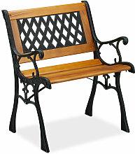 Chaise de jardin avec accoudoirs, résistante,