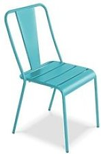 Chaise de jardin en métal, dieppe