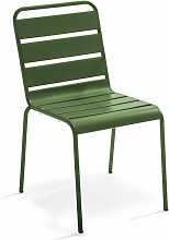 Chaise de jardin en métal Palavas Palavas - Vert