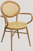 Chaise de Jardin en Rotin Synthétique Siena Osier