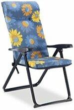 Chaise de jardin fauteuil pliant solenny 6