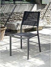 Chaise de jardin Florence Brun Taupe Vendu(e)s par