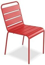 Chaise de jardin métal design, palavas