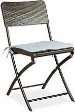 Chaise de jardin pliable pliante Chaise de camping