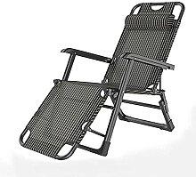Chaise de Jardin Pliante pour Patio extérieur,