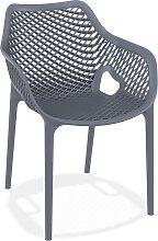 Chaise de jardin / terrasse 'SISTER' gris