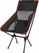 Chaise de lune extérieure portable pêche