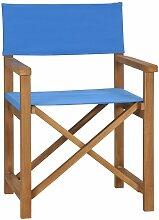 Chaise de Metteur en Scène Bois de Teck Solide