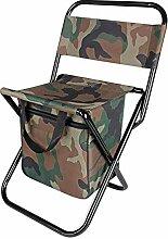 Chaise de pêche, pliable, portable, dossier,