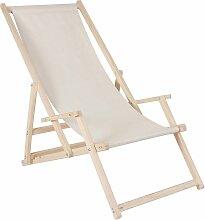 Chaise de plage avec accoudoir chaise de plage,