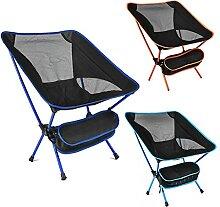 Chaise de plage, chaise de camping compacte,