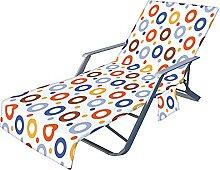 Chaise De Plage Couverture Avec Poches, Chaise De