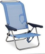 Chaise de plage-lit 5 positions EREDU991_TX