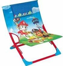 Chaise de plage pliante - pat'patrouille