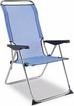 Chaise de plage pliante solenny 5 positions