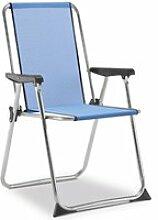 Chaise de plage pliante solenny avec dossier haut