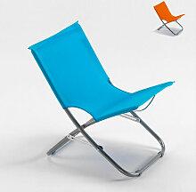 Chaise de plage transat pliante fauteuil piscine