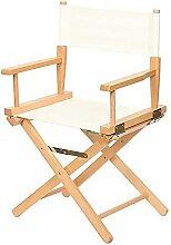 Chaise de réalisateur Artiste en Bois Chaise en