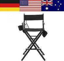 Chaise de réalisateur de maquillage, cadre haut