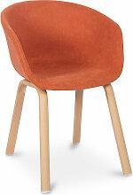 Chaise de salle à manger design avec accoudoirs
