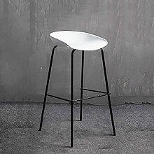 Chaise de salle à manger en fer forgé moderne