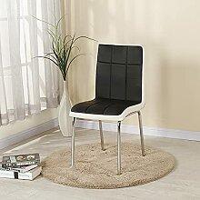 Chaise de salle à manger entièrement ajustée,