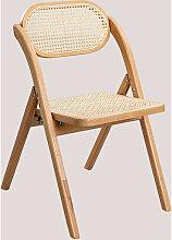 Chaise de salle à manger pliante en bois Sia Bois