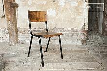 Chaise de style vintage Doinel