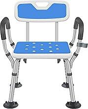 Chaise de Tabouret de Salle de Bain réglable