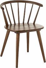 Chaise design vintage en bois