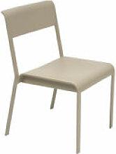 Chaise empilable Bellevie / Métal - Fermob beige