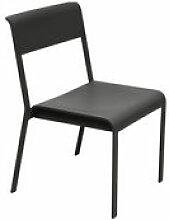 Chaise empilable Bellevie / Métal - Fermob noir