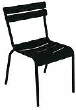 Chaise empilable Luxembourg / Métal - Aluminium -