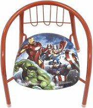 Chaise en métal 35.5x30x33.5cm de marvel-avengers