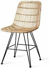 Chaise en rotin naturel Marey