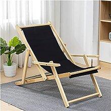 Chaise en Sling Chaise Longue, Chaise Pliante
