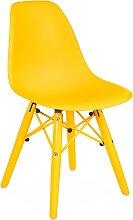 Chaise enfant DSW Color - Jaune