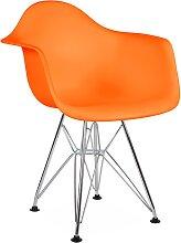 Chaise enfant Eames DAR - Orange