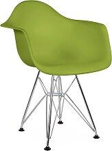 Chaise enfant Eames DAR - Vert