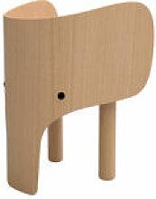 Chaise enfant Elephant - EO bois naturel en bois