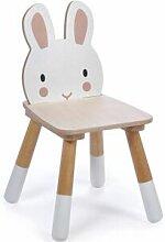 Chaise enfant lapin en bois