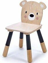 Chaise enfant ours en bois