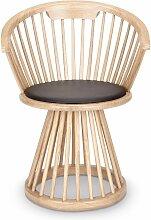 Chaise FAN de Tom Dixon, Naturel