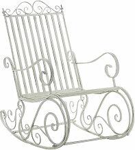 Chaise fauteuil à bascule rocking chair pour