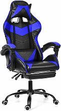 Chaise Fauteuil de Bureau Blanc Gaming Gamer