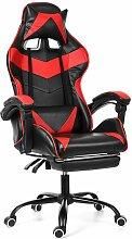 Chaise Fauteuil de Bureau Rouge Gaming Gamer